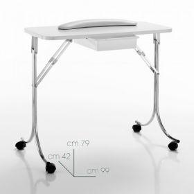 Xanitalia Liikutettava kynsipöytä