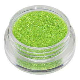 Universal Nails Vaaleanvihreä glitterpuuteri 2 g