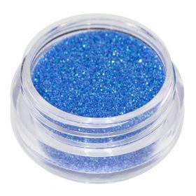 Universal Nails Vaaleansininen glitterpuuteri 2 g
