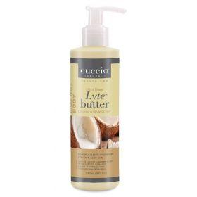 Cuccio Naturalé Lyte Coconut & White Ginger kosteusvoide 237 mL