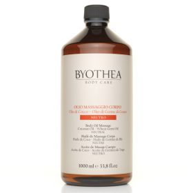 Byotea Neutral Massage Oil Coconut & Wheat Germ hierontaöljy 1000 mL