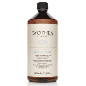 Byotea Fragrance Free Neutral Massage Oil hierontaöljy 1000 mL