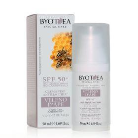 Byotea Bee Venom Anti-Blemish Face Cream Very High Protection SPF50+ kasvovoide 50 mL