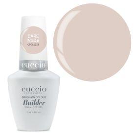 Cuccio Bare Nude Brush-On Colour Builder With Calcium LED/UV geeli 13 mL