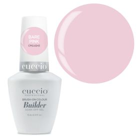 Cuccio Bare Pink Brush-On Colour Builder With Calcium LED/UV geeli 13 mL