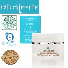 Naturalmente Breathe Brightening Treatment Illuminating Eye Cream silmänympärysvoide 15 mL