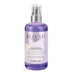 Inebrya Blondesse Blonde Miracle Bi-Phase Conditioner hoitosuihke 200 mL
