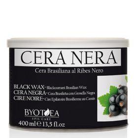 Byotea Black Brasilian Wax with Blackcurrant Mustaherukka lämminvaha purkissa 400 mL