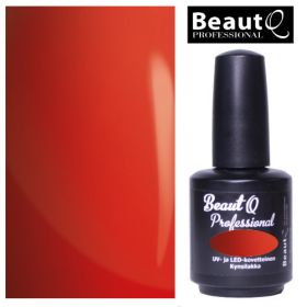 BeautQ Professional Deluxe Red Longlife geelilakka 12 mL