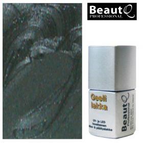 BeautQ Professional Musta Antrasiitti geelilakka 12 mL