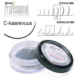 BeautQ Professional C-Pidennysripset 13 / 0.15 1 g