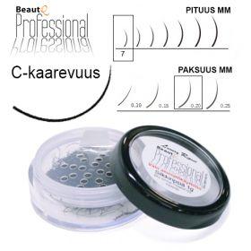 BeautQ Professional C-Pidennysripset 7 / 0.20 1 g