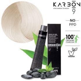 Echosline Karbon 9 CB10 Platinum Charcoal Blonde hiusväri 100 mL