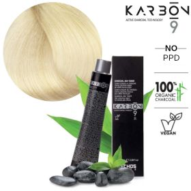 Echosline Karbon 9 CB9 Extra-Light Charcoal Blonde hiusväri 100 mL