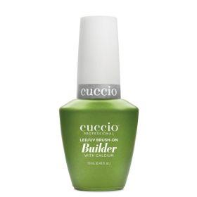 Cuccio Clear Brush-On Builder With Calcium LED/UV geeli 13 mL