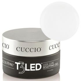 Cuccio Clear T3 LED/UV Self Leveling Cool Cure geeli 28 g