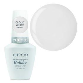 Cuccio Cloud White Brush-On Colour Builder With Calcium LED/UV geeli 13 mL