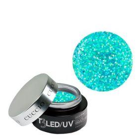 Cuccio Blue Bling T3 LED/UV Self Leveling Cool Cure geeli 28 g