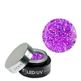 Cuccio Electric Pink T3 LED/UV Self Leveling Cool Cure geeli 28 g