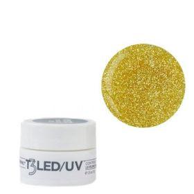 Cuccio Gold Dust T3 LED/UV Self Leveling Cool Cure geeli 7 g