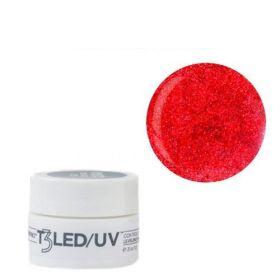 Cuccio Ruby Red T3 LED/UV Self Leveling Cool Cure geeli 7 g