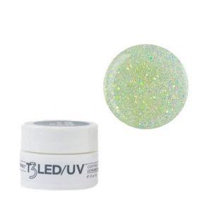 Cuccio Silver Sparkle T3 LED/UV Self Leveling Cool Cure geeli 7 g