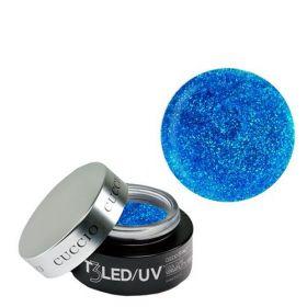Cuccio Smurf Glitter T3 LED/UV Self Leveling Cool Cure geeli 28 g