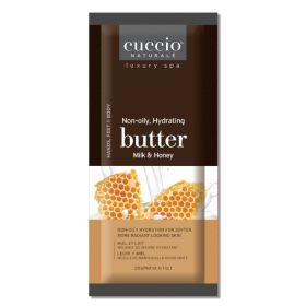 Cuccio Naturalé Butter Blend Milk & Honey Sachet kosteusvoidepussi 200 x 20 g