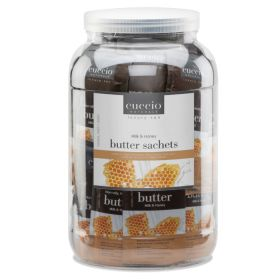 Cuccio Naturalé Butter Blend Milk & Honey Sachet kosteusvoidepussi 65 x 20 g