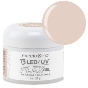 Cuccio Ivory Cover T3 LED/UV FLEX Gel geeli 28 g
