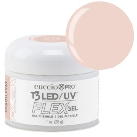 Cuccio Peach Pink T3 LED/UV FLEX Gel geeli 28 g