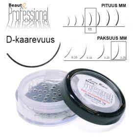 BeautQ Professional D-Pidennysripset 11 / 0.25 1 g