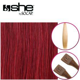 So Cap Suora Sinettihius Dark Red 10 kpl 55-60 cm