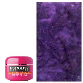 Noname Cosmetics Deep Plum Metallic UV geeli 5 g