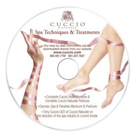 Cuccio Spa Techniques & Treatments DVD