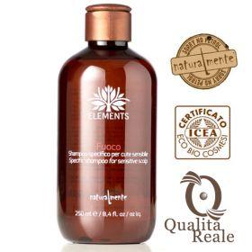 Naturalmente Elements Fuoco shampoo herkälle hiuspohjalle 250 mL