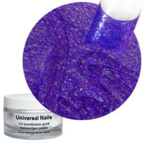 Universal Nails Hieno Liila UV glittergeeli 10 g
