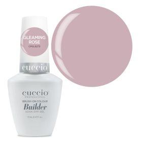 Cuccio Gleaming Rose Brush-On Colour Builder With Calcium LED/UV geeli 13 mL