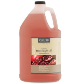 Cuccio Naturalé Hydrating Massage Oil Pomegranate & Fig hierontaöljy 3,75 L