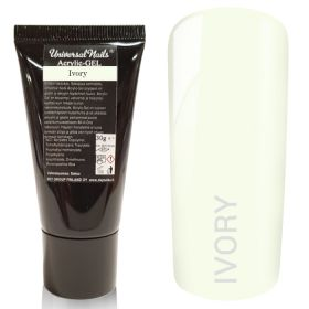 Universal Nails Acrylic-Gel UV/LED Ivory polygeeli 30 g