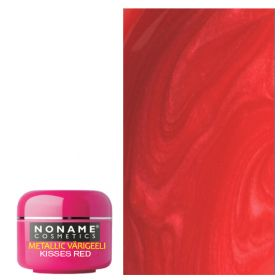 Noname Cosmetics Kisses Red Metallic UV geeli 5 g