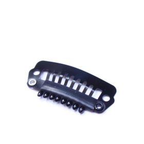 Noname Cosmetics Musta hiuslukko medium 2,8 cm 50 kpl