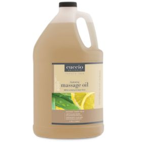 Cuccio Naturalé Hydrating Massage Oil White Limetta & Aloe Vera hierontaöljy 3,75 L