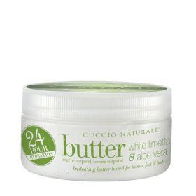 Cuccio Naturalé Butter Blend White Limetta & Aloe Vera kosteusvoide 226 g