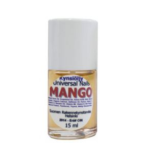 Universal Nails Mango Tuoksuva Kynsinauhaöljy pensselillä 15 mL