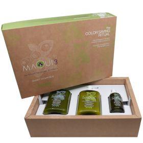 Echosline Maqui Smart Vegan Box Color Saving Ritual hoitopakkaus 385 + 385 + 100 mL