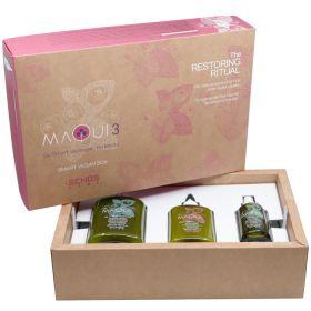 Echosline Maqui Smart Vegan Box Restoring Ritual hoitopakkaus 385 + 250 + 100 mL
