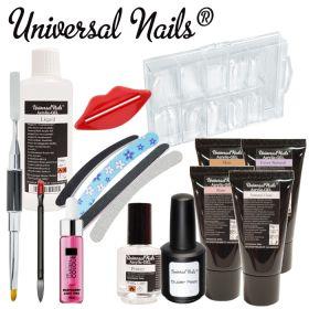 Universal Nails Acrylic-Gel Aloituspaketti Master ilman uunia