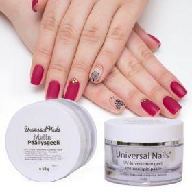 Universal Nails Matta UV/LED päällysgeeli 10 g