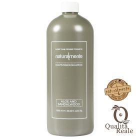 Naturalmente Aloe & Sandalwood Multivitamin tasapainottava shampoo 1000 mL